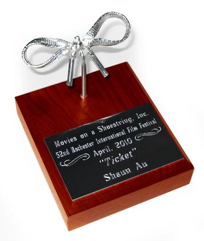 2010 Rochester International Film Festival Shoestring Award