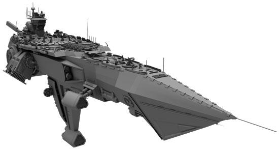 ship flat shader 01