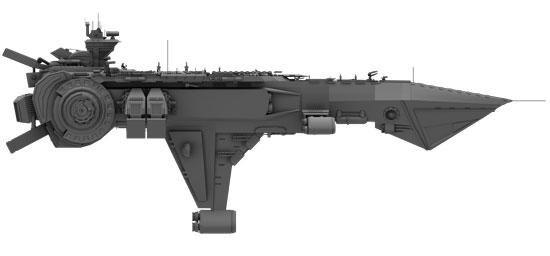 ship flat shader 02