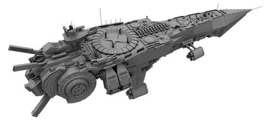 ship flat shader 03