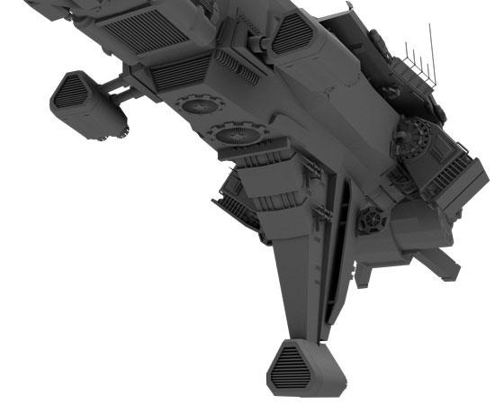 ship flat shader 06
