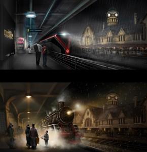济南老站的过去和想象中的现在